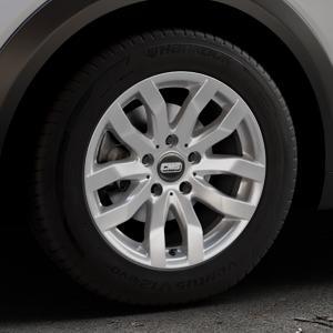 CMS C22 Racing Silver Felge mit Reifen silber in 16Zoll Winterfelge Alufelge auf silbernem Mazda CX-3 Typ DJ1 ⬇️ mit 15mm Tieferlegung ⬇️ Industriehalle 1 Thumbnail