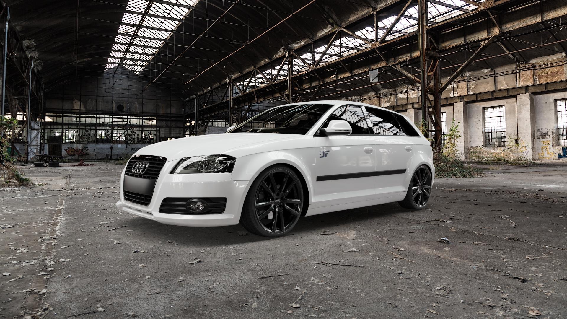 CMS C27 Complete Black Gloss Felge mit Reifen schwarz in 19Zoll Winterfelge Alufelge auf weissem Audi A3 Typ 8P (Sportback) 1,6l 75kW (102 PS) 2,0l FSI 110kW (150 1,9l TDI 77kW (105 103kW (140 TFSI 147kW (200 85kW (116 100kW (136 1,8l 118kW (160 125kW (170 1,4l 92kW (125 120kW (163 quattro 3,2l V6 184kW (250 S3 195kW (265 1,2l 66kW (90 18