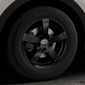 DBV Torino II schwarz matt Felge mit Reifen in 16Zoll Winterfelge Alufelge auf silbernem Kia Sportage IV Typ QL QLE ⬇️ mit 15mm Tieferlegung ⬇️ Industriehalle 1 Thumbnail