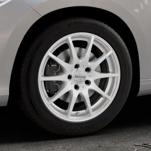 DEZENT TI Silver Felge mit Reifen silber in 16Zoll Winterfelge Alufelge auf silbernem Fiat Tipo II Limousine Typ 356 ⬇️ mit 15mm Tieferlegung ⬇️ Industriehalle 1 Thumbnail