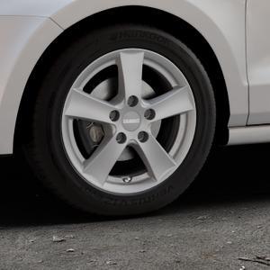 DEZENT TX GRAPHITE MATT Felge mit Reifen grau in 15Zoll Winterfelge Alufelge auf silbernem Volkswagen (VW) Polo V Typ 6C 1,0l 44kW (60 PS) 55kW (75 1,2l TSI 66kW (90 81kW (110 1,4l TDI 77kW (105 110kW (150 70kW (95 ⬇️ mit 15mm Tieferlegung ⬇️ Industriehalle 1 Thumbnail