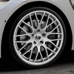 DIEWE WHEELS Impatto Argento silber Felge mit Reifen in 20Zoll Winterfelge Alufelge auf silbernem BMW M4 Typ F83 (Cabrio) 3,0l 317kW (431 PS) ⬇️ mit 15mm Tieferlegung ⬇️ Industriehalle 1 Thumbnail