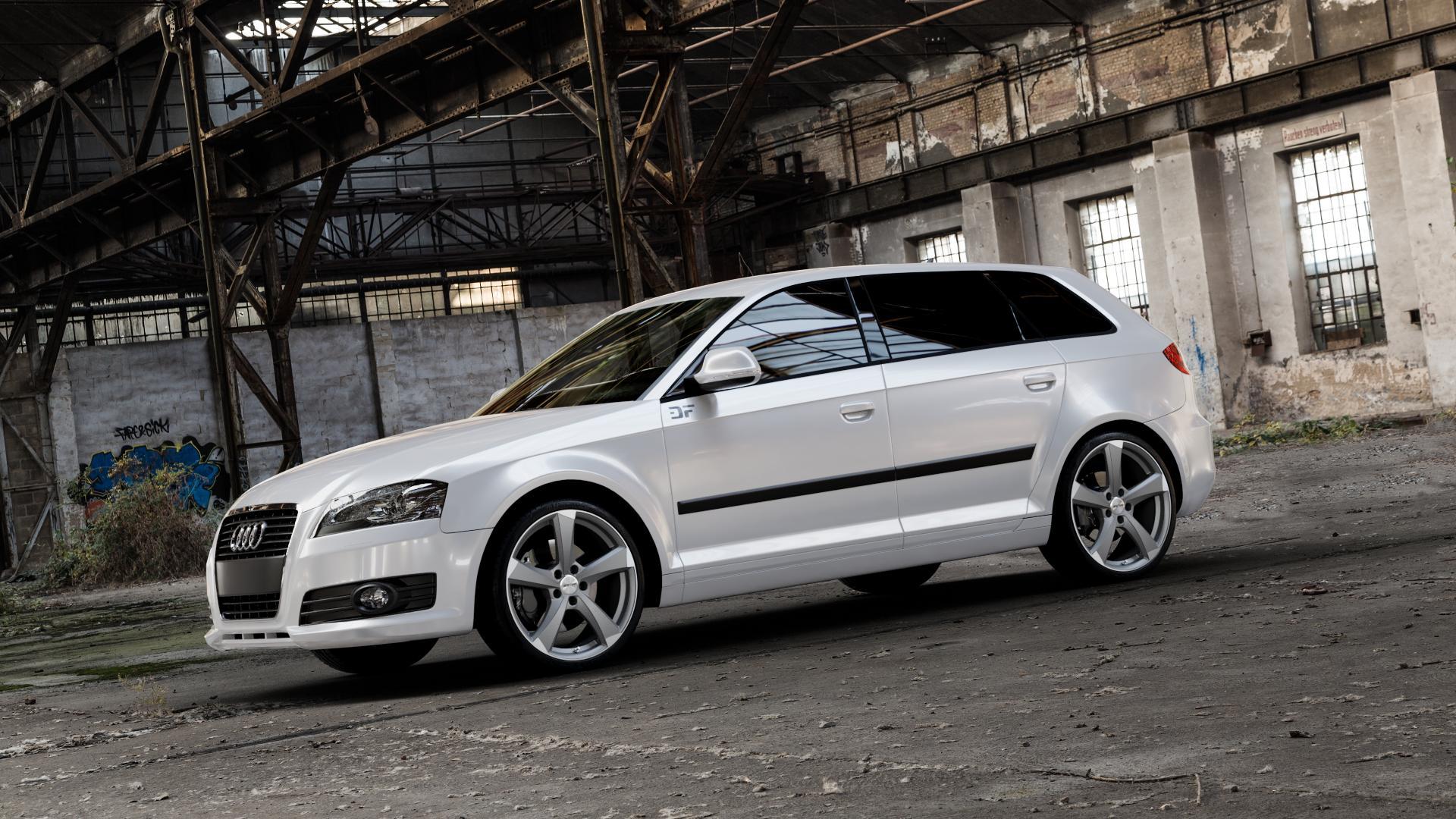 GMP Italia Ican Anthr. matt diamond Felge mit Reifen grau anthrazit in 19Zoll Winterfelge Alufelge auf weissem Audi A3 Typ 8P (Sportback) 1,6l 75kW (102 PS) 2,0l FSI 110kW (150 1,9l TDI 77kW (105 103kW (140 TFSI 147kW (200 85kW (116 100kW (136 1,8l 118kW (160 125kW (170 1,4l 92kW (125 120kW (163 quattro 3,2l V6 184kW (250 S3 195kW (265 1,2l 66kW (90 18