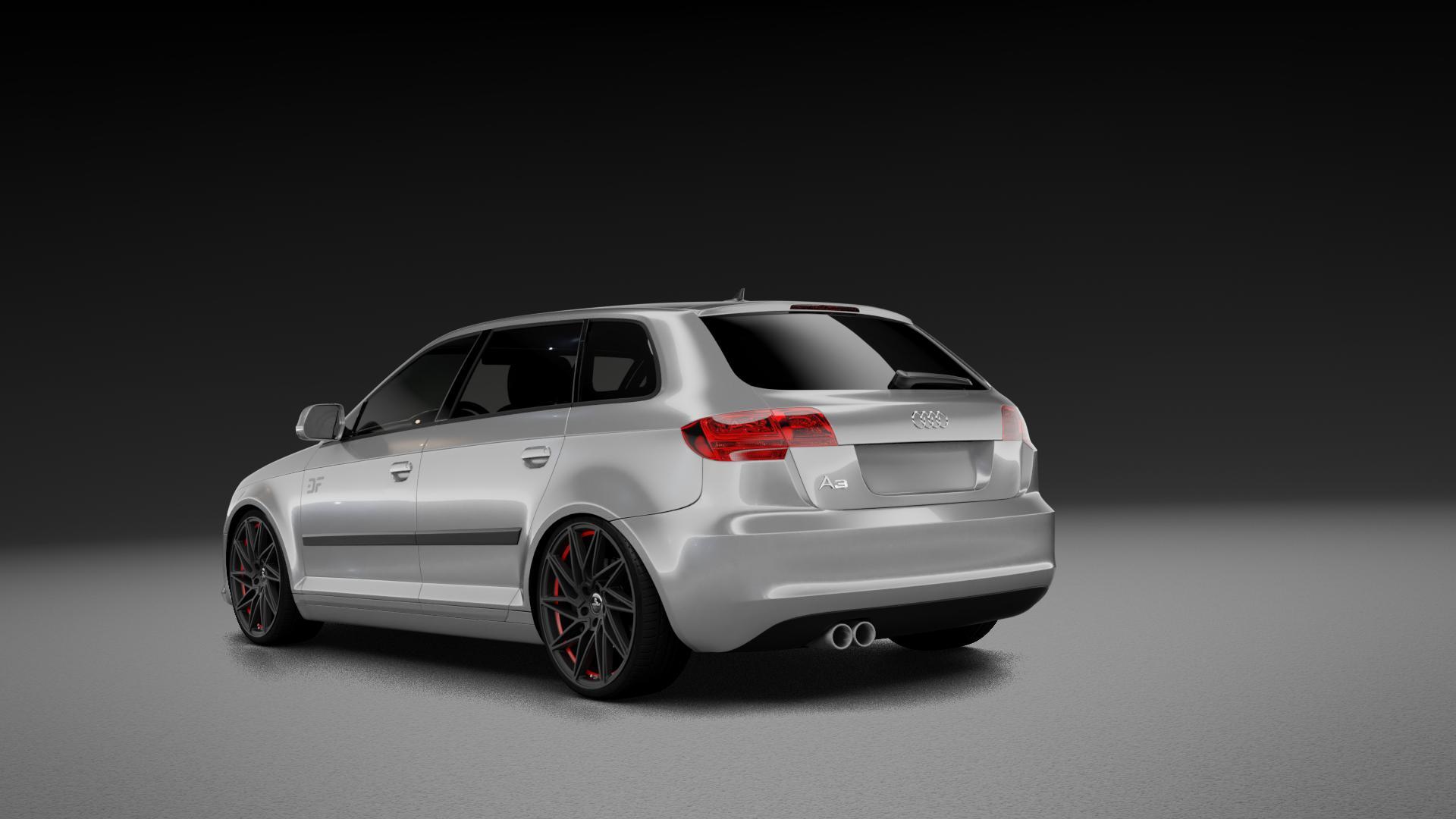 KESKIN KT20 MATT BLACK RED INSIDE Felge mit Reifen schwarz rot in 19Zoll Winterfelge Alufelge auf silbernem Audi A3 Typ 8P (Sportback) 1,6l 75kW (102 PS) 2,0l FSI 110kW (150 1,9l TDI 77kW (105 103kW (140 TFSI 147kW (200 85kW (116 100kW (136 1,8l 118kW (160 125kW (170 1,4l 92kW (125 120kW (163 quattro 3,2l V6 184kW (250 S3 195kW (265 1,2l 66kW (90