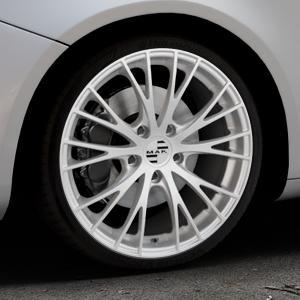 MAK Rennen Silver Felge mit Reifen silber in 19Zoll Winterfelge Alufelge auf silbernem Alfa Romeo Giulietta Typ 940 ⬇️ mit 15mm Tieferlegung ⬇️ Industriehalle 1 Thumbnail