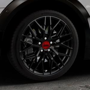 MAM RS4 BLACK PAINTED Felge mit Reifen schwarz in 18Zoll Winterfelge Alufelge auf silbernem Mini F54 Typ UKL-L (Clubman) FMK ⬇️ mit 15mm Tieferlegung ⬇️ Industriehalle 1 Thumbnail