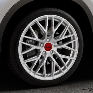 MAM RS4 MATT SILVER PAINTED Felge mit Reifen silber in 19Zoll Winterfelge Alufelge auf silbernem BMW X1 Typ F48 (UKL-L) (F1X) ⬇️ mit 15mm Tieferlegung ⬇️ Industriehalle 1 Thumbnail