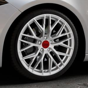 MAM RS4 MATT SILVER PAINTED Felge mit Reifen silber in 19Zoll Winterfelge Alufelge auf silbernem Mercedes A-Klasse IV Typ 177 (F2A) Schrägheck ⬇️ mit 15mm Tieferlegung ⬇️ Industriehalle 1 Thumbnail