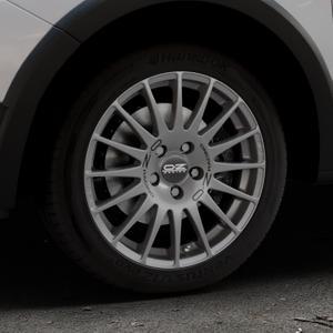 OZ RACING SUPERTURISMO GT GRIGIO CORSA Felge mit Reifen silber in 16Zoll Winterfelge Alufelge auf silbernem Dacia Sandero Stepway II Typ SD ⬇️ mit 15mm Tieferlegung ⬇️ Industriehalle 1 Thumbnail