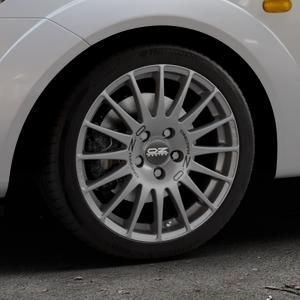 OZ RACING SUPERTURISMO GT GRIGIO CORSA Felge mit Reifen silber in 16Zoll Winterfelge Alufelge auf silbernem Ford Fiesta V Typ JH1/JD3 ⬇️ mit 15mm Tieferlegung ⬇️ Industriehalle 1 Thumbnail