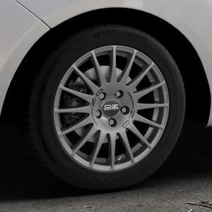 OZ RACING SUPERTURISMO GT GRIGIO CORSA Felge mit Reifen silber in 16Zoll Winterfelge Alufelge auf silbernem Hyundai ix20 Typ JC ⬇️ mit 15mm Tieferlegung ⬇️ Industriehalle 1 Thumbnail