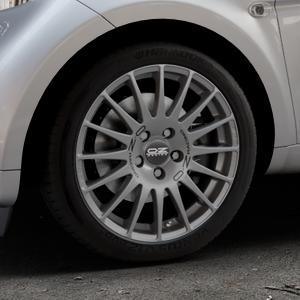 OZ RACING SUPERTURISMO GT GRIGIO CORSA Felge mit Reifen silber in 16Zoll Winterfelge Alufelge auf silbernem Smart Fortwo Coupe III (14-) (453) Cabrio (16-) ⬇️ mit 15mm Tieferlegung ⬇️ Industriehalle 1 Thumbnail