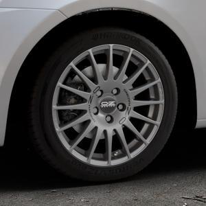 OZ RACING SUPERTURISMO GT GRIGIO CORSA Felge mit Reifen silber in 16Zoll Winterfelge Alufelge auf silbernem Suzuki Swift V Typ NZ FZ ⬇️ mit 15mm Tieferlegung ⬇️ Industriehalle 1 Thumbnail