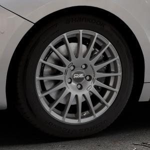 OZ RACING SUPERTURISMO GT GRIGIO CORSA Felge mit Reifen silber in 17Zoll Winterfelge Alufelge auf silbernem DS Automobiles DS5 Typ K Facelift ⬇️ mit 15mm Tieferlegung ⬇️ Industriehalle 1 Thumbnail