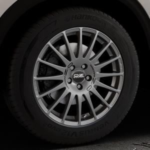 OZ RACING SUPERTURISMO GT GRIGIO CORSA Felge mit Reifen silber in 18Zoll Winterfelge Alufelge auf silbernem Mazda CX-5 Typ KF ⬇️ mit 15mm Tieferlegung ⬇️ Industriehalle 1 Thumbnail