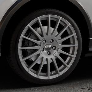 OZ RACING SUPERTURISMO GT GRIGIO CORSA Felge mit Reifen silber in 19Zoll Winterfelge Alufelge auf silbernem Audi Q2 Typ GA ⬇️ mit 15mm Tieferlegung ⬇️ Industriehalle 1 Thumbnail