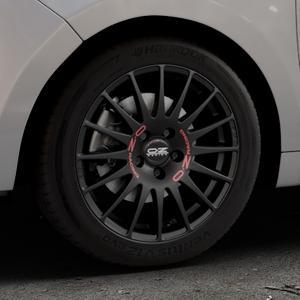 OZ RACING SUPERTURISMO GT MATT BLACK Felge mit Reifen schwarz in 16Zoll Winterfelge Alufelge auf silbernem Citroen C3 Picasso ⬇️ mit 15mm Tieferlegung ⬇️ Industriehalle 1 Thumbnail