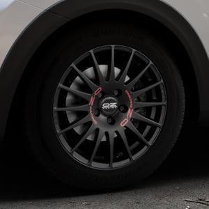 OZ RACING SUPERTURISMO GT MATT BLACK Felge mit Reifen schwarz in 16Zoll Winterfelge Alufelge auf silbernem Kia Stonic Typ YB ⬇️ mit 15mm Tieferlegung ⬇️ Industriehalle 1 Thumbnail