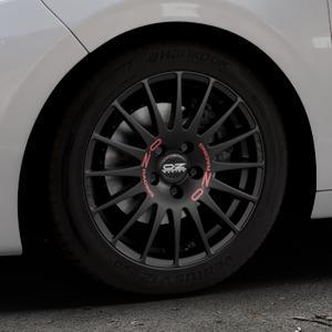 OZ RACING SUPERTURISMO GT MATT BLACK Felge mit Reifen schwarz in 16Zoll Winterfelge Alufelge auf silbernem Peugeot 208 Typ C ⬇️ mit 15mm Tieferlegung ⬇️ Industriehalle 1 Thumbnail