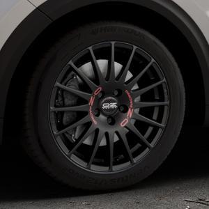 OZ RACING SUPERTURISMO GT MATT BLACK Felge mit Reifen schwarz in 17Zoll Winterfelge Alufelge auf silbernem Kia Niro Typ DE ⬇️ mit 15mm Tieferlegung ⬇️ Industriehalle 1 Thumbnail