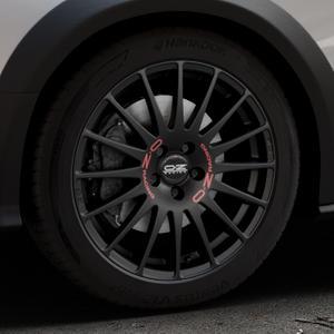 OZ RACING SUPERTURISMO GT MATT BLACK Felge mit Reifen schwarz in 18Zoll Winterfelge Alufelge auf silbernem Audi A4 Typ 8KH/B8 Allroad ⬇️ mit 15mm Tieferlegung ⬇️ Industriehalle 1 Thumbnail