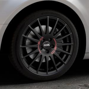 OZ RACING SUPERTURISMO GT MATT BLACK Felge mit Reifen schwarz in 18Zoll Winterfelge Alufelge auf silbernem Citroen C5 II ⬇️ mit 15mm Tieferlegung ⬇️ Industriehalle 1 Thumbnail