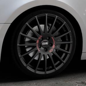 OZ RACING SUPERTURISMO GT MATT BLACK Felge mit Reifen schwarz in 19Zoll Winterfelge Alufelge auf silbernem Audi A4 Typ B9 (Avant) ⬇️ mit 15mm Tieferlegung ⬇️ Industriehalle 1 Thumbnail