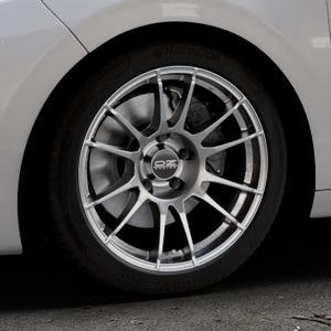 OZ RACING ULTRALEGGERA CRYSTAL TITANIUM Felge mit Reifen grau in 17Zoll Winterfelge Alufelge auf silbernem Peugeot 208 Typ C ⬇️ mit 15mm Tieferlegung ⬇️ Industriehalle 1 Thumbnail