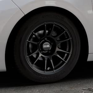 OZ RACING ULTRALEGGERA MATT BLACK Felge mit Reifen schwarz in 15Zoll Winterfelge Alufelge auf silbernem Peugeot 208 Typ C ⬇️ mit 15mm Tieferlegung ⬇️ Industriehalle 1 Thumbnail
