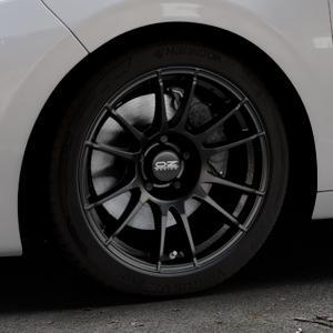 OZ RACING ULTRALEGGERA MATT BLACK Felge mit Reifen schwarz in 17Zoll Winterfelge Alufelge auf silbernem Peugeot 208 Typ C ⬇️ mit 15mm Tieferlegung ⬇️ Industriehalle 1 Thumbnail