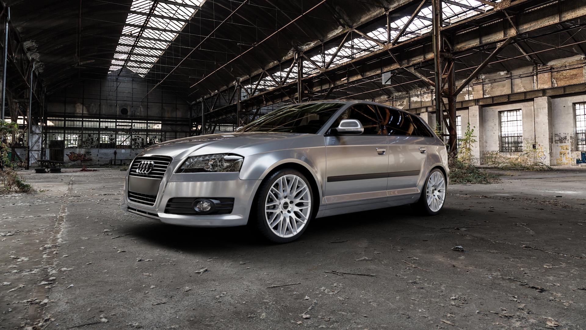ProLine Wheels PXK Metallic Silver Felge mit Reifen silber in 18Zoll Winterfelge Alufelge auf silbernem Audi A3 Typ 8P (Sportback) 1,6l 75kW (102 PS) 2,0l FSI 110kW (150 1,9l TDI 77kW (105 103kW (140 TFSI 147kW (200 85kW (116 100kW (136 1,8l 118kW (160 125kW (170 1,4l 92kW (125 120kW (163 quattro 3,2l V6 184kW (250 S3 195kW (265 1,2l 66kW (90