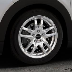 ProLine Wheels VX100 arctic silver Felge mit Reifen silber in 16Zoll Winterfelge Alufelge auf silbernem Citroen C4 Cactus Typ 0 ⬇️ mit 15mm Tieferlegung ⬇️ Industriehalle 1 Thumbnail