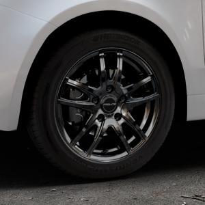 ProLine Wheels VX100 black matt Felge mit Reifen schwarz in 15Zoll Winterfelge Alufelge auf silbernem Fiat 500 Typ 312 Cabrio Facelift ⬇️ mit 15mm Tieferlegung ⬇️ Industriehalle 1 Thumbnail