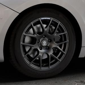 SPARCO PRO CORSA MATT DARK TITANIUM Felge mit Reifen grau in 17Zoll Winterfelge Alufelge auf silbernem DS Automobiles DS5 Typ K Facelift ⬇️ mit 15mm Tieferlegung ⬇️ Industriehalle 1 Thumbnail