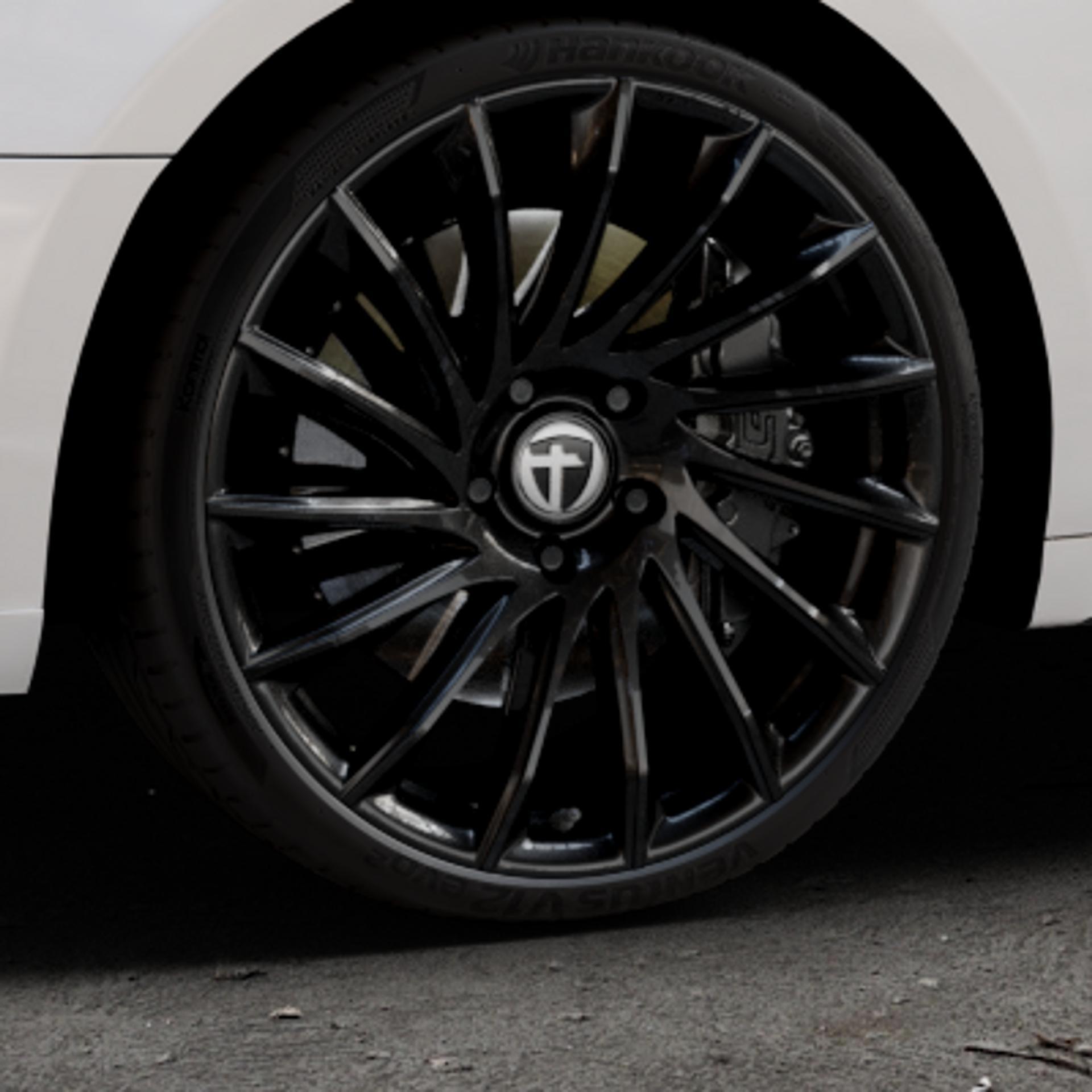 TOMASON TN16 Black painted Felge mit Reifen schwarz in 20Zoll Winterfelge Alufelge auf weissem Audi A5 Typ B9 (Sportback) 2,0l TDI 140kW (190 PS) quattro TFSI 185kW (252 3,0l 160kW (218 200kW (272 1,4l 110kW (150 183kW (249 g-tron 125kW (170 Mild-Hybrid 100kW (136 210kW (286 45 180kW (245 35 40 50 170kW (231 120kW (163 30 ⬇️ mit 15mm Ti